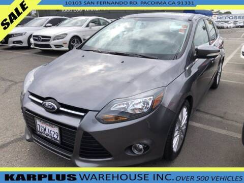 2014 Ford Focus for sale at Karplus Warehouse in Pacoima CA