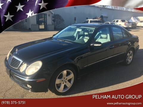2003 Mercedes-Benz E-Class for sale at Pelham Auto Group in Pelham NH