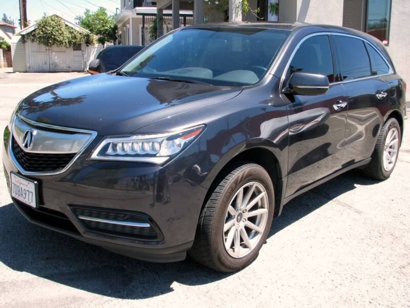 2014 Acura MDX for sale at Used Cars Los Angeles in Los Angeles CA