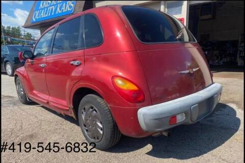 2002 Chrysler PT Cruiser for sale at KRIS RADIO QUALITY KARS INC in Mansfield OH