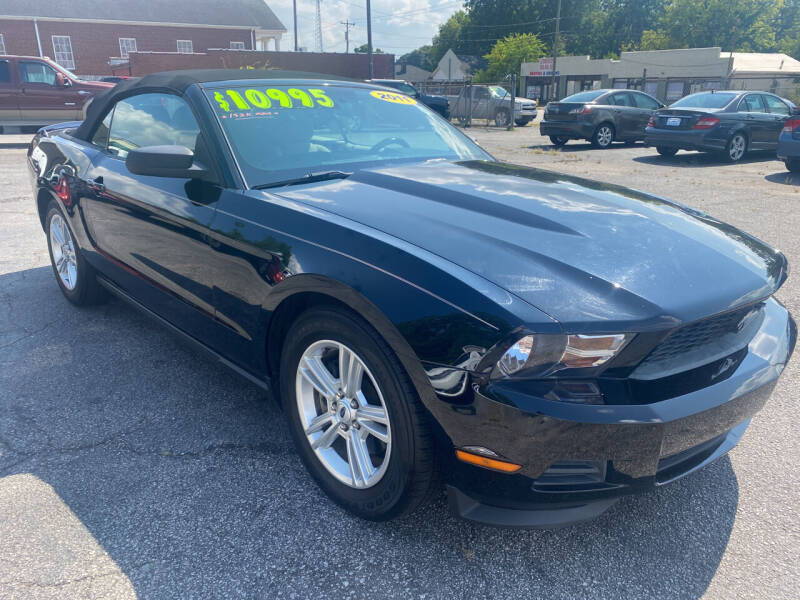 2011 Ford Mustang for sale at Allen's Auto Sales LLC in Greenville SC