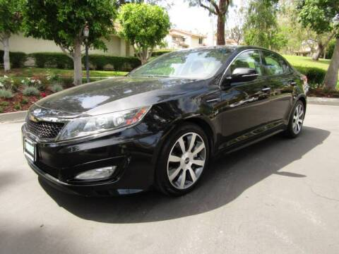 2012 Kia Optima for sale at E MOTORCARS in Fullerton CA