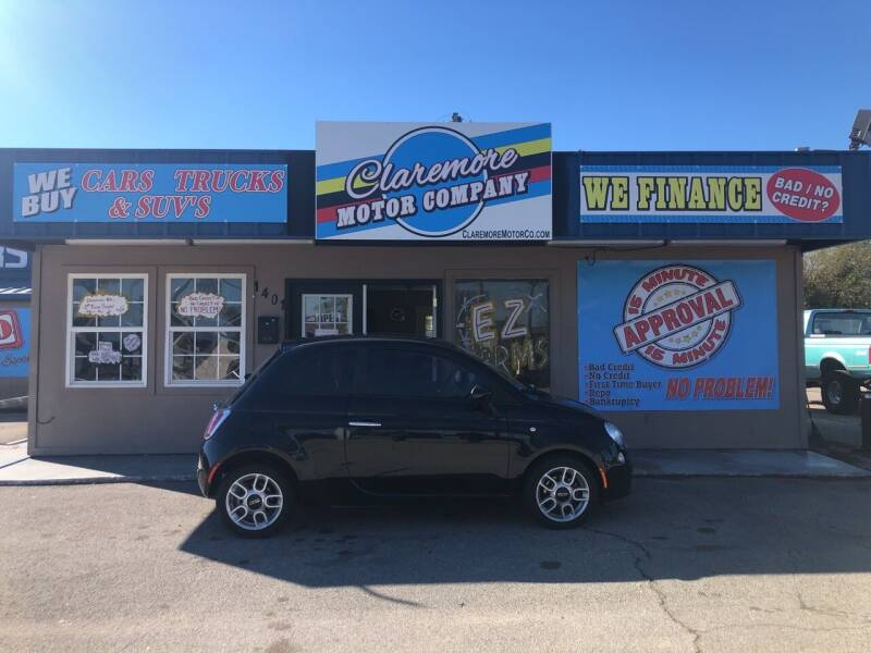 2012 FIAT 500 for sale at Claremore Motor Company in Claremore OK