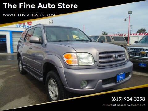 2002 Toyota Sequoia for sale at The Fine Auto Store in Imperial Beach CA
