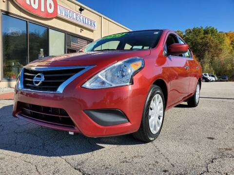2018 Nissan Versa for sale at Auto Wholesalers Of Hooksett in Hooksett NH