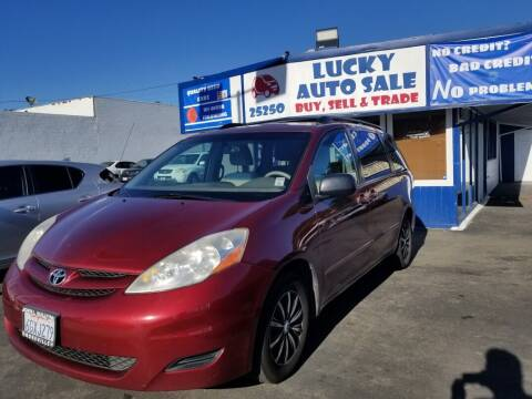 2009 Toyota Sienna for sale at Lucky Auto Sale in Hayward CA