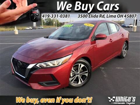 2020 Nissan Sentra for sale at White's Honda Toyota of Lima in Lima OH