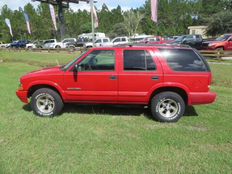2004 Chevrolet Blazer for sale at Ward's Motorsports in Pensacola FL