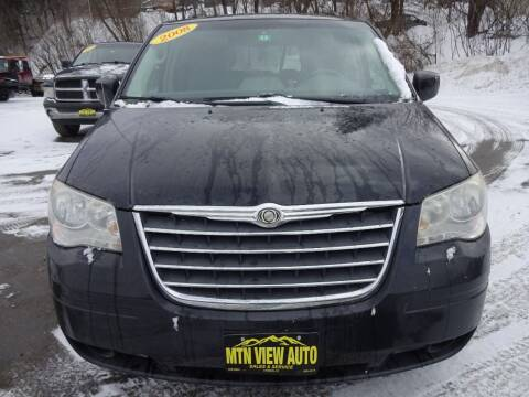 2008 Chrysler Town and Country for sale at MOUNTAIN VIEW AUTO in Lyndonville VT