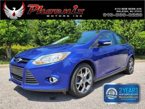 2013 Ford Focus for sale at Phoenix Motors Inc in Raleigh NC