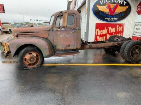 1946 Ford F-150 for sale at Classic Car Deals in Cadillac MI