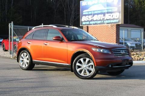 2008 Infiniti FX35 for sale at Skyline Motors in Louisville TN