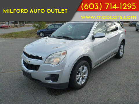 2010 Chevrolet Equinox for sale at Milford Auto Outlet in Milford NH