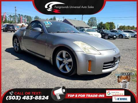 2006 Nissan 350Z for sale at Universal Auto Sales in Salem OR