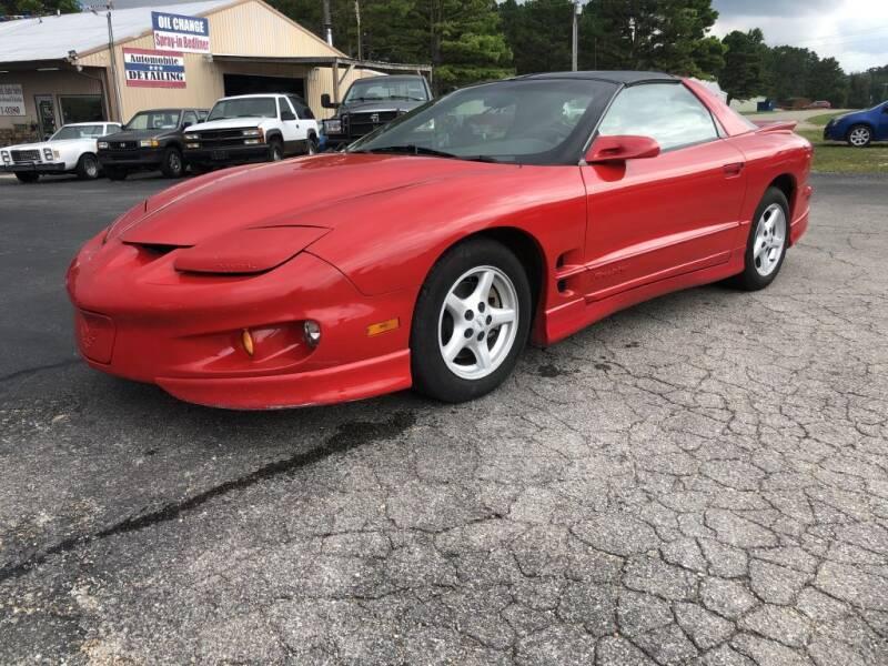 1999 Pontiac Firebird for sale at EAGLE ROCK AUTO SALES in Eagle Rock MO
