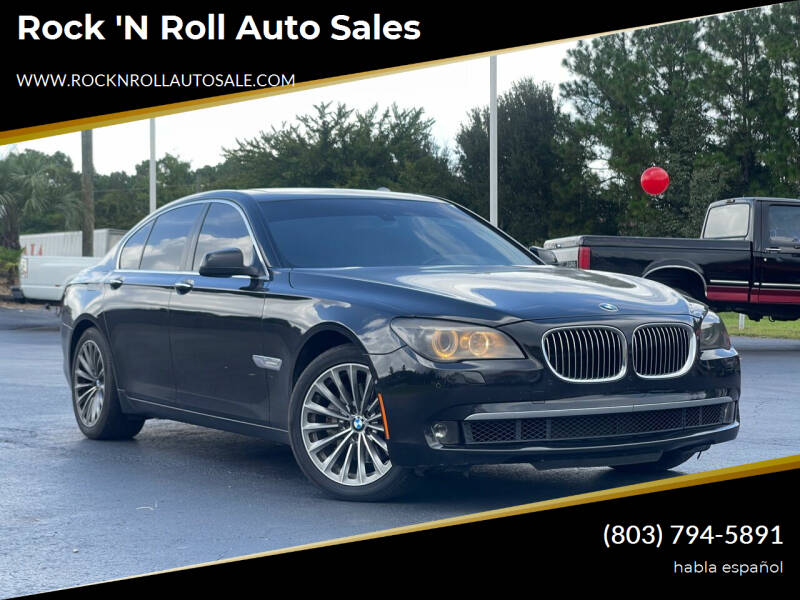 2011 BMW 7 Series for sale at Rock 'n Roll Auto Sales in West Columbia SC