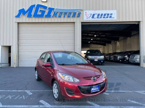 2014 Mazda MAZDA2 for sale at MGI Motors in Sacramento CA