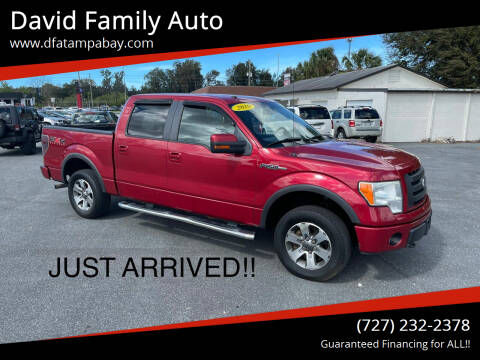 2010 Ford F-150 for sale at David Family Auto in New Port Richey FL