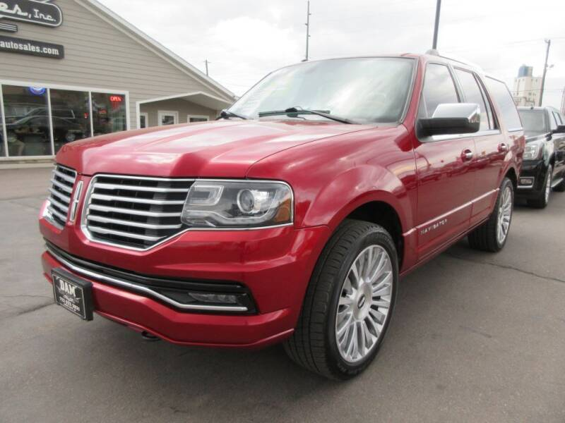 2015 Lincoln Navigator for sale at Dam Auto Sales in Sioux City IA