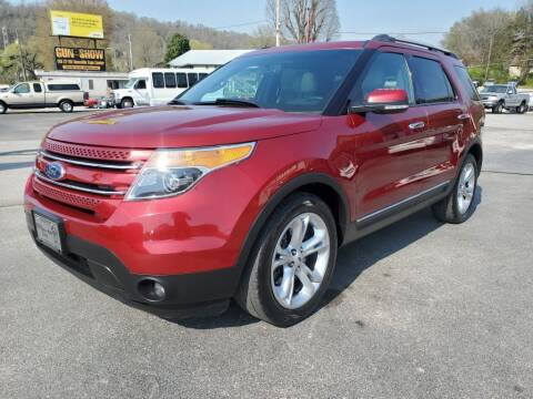 2013 Ford Explorer for sale at MCMANUS AUTO SALES in Knoxville TN