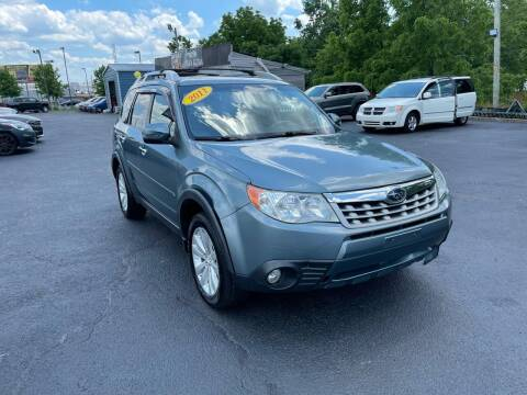 2011 Subaru Forester for sale at LexTown Motors in Lexington KY