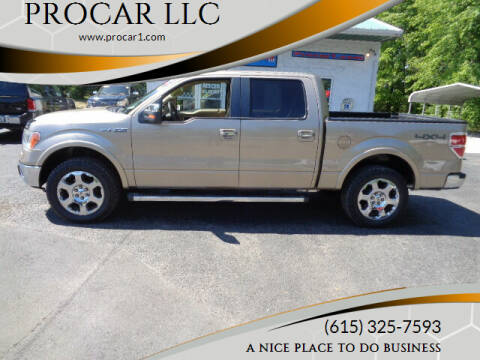 2011 Ford F-150 for sale at PROCAR LLC in Portland TN