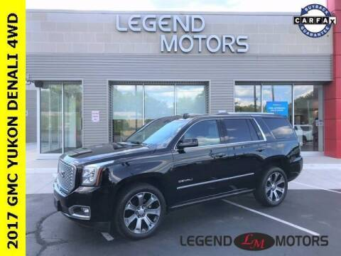 2017 GMC Yukon for sale at Legend Motors of Detroit - Legend Motors of Ferndale in Ferndale MI