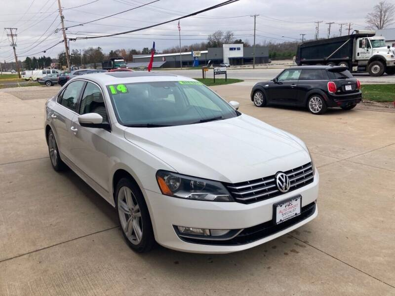 2014 Volkswagen Passat for sale at Auto Import Specialist LLC in South Bend IN