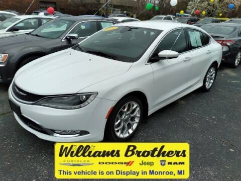2015 Chrysler 200 for sale at Williams Brothers - Pre-Owned Monroe in Monroe MI