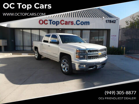 2014 Chevrolet Silverado 1500 for sale at OC Top Cars in Irvine CA