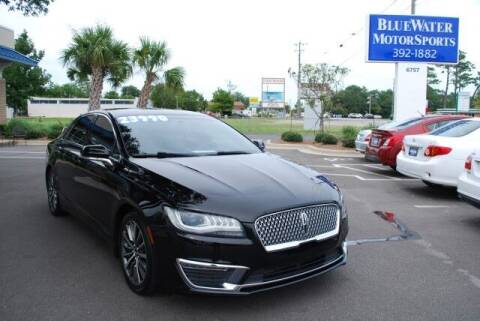 2017 Lincoln MKZ for sale at BlueWater MotorSports in Wilmington NC