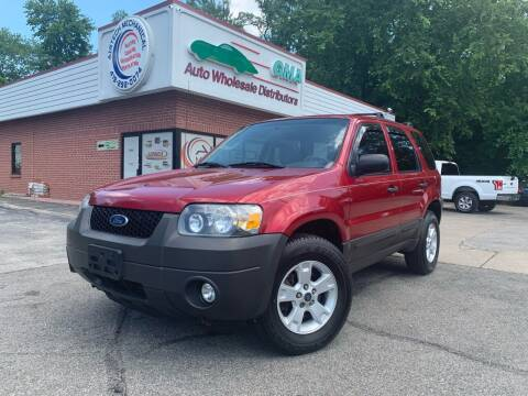 2007 Ford Escape for sale at GMA Automotive Wholesale in Toledo OH