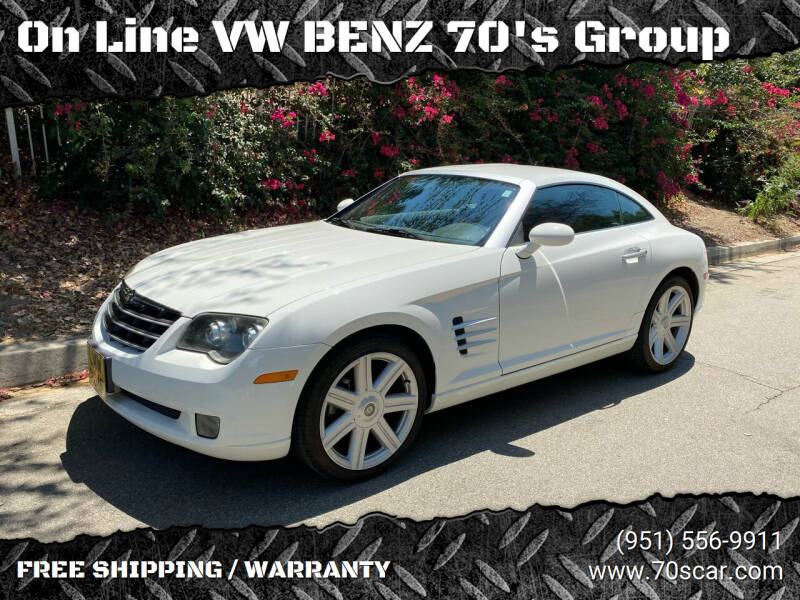 2004 Chrysler Crossfire for sale at OnLine VW-BENZ.COM Auto Group in Riverside CA