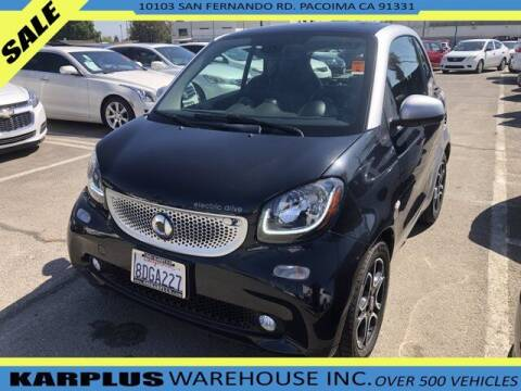 2018 Smart fortwo electric drive for sale at Karplus Warehouse in Pacoima CA