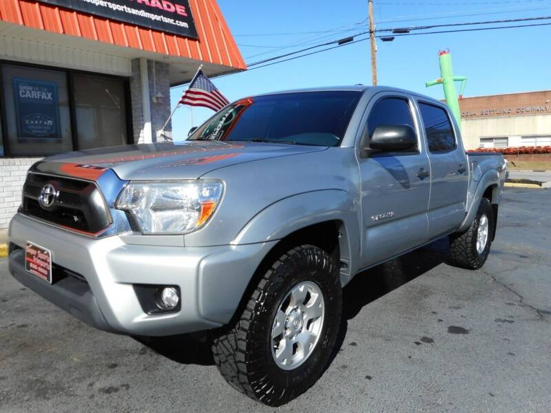 2015 Toyota Tacoma for sale at Super Sports & Imports in Jonesville NC