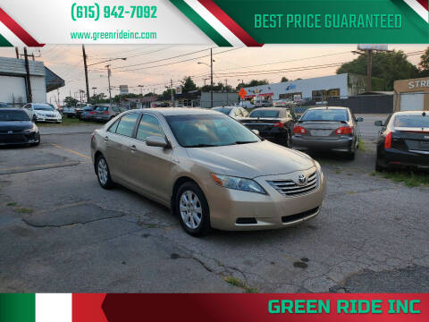 2007 Toyota Camry Hybrid for sale at Green Ride Inc in Nashville TN