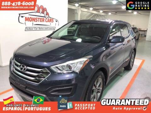 2015 Hyundai Santa Fe Sport for sale at Monster Cars in Pompano Beach FL