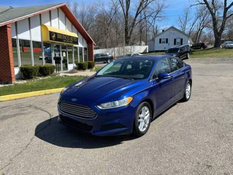 2014 Ford Fusion for sale at Bronco Auto in Kalamazoo MI