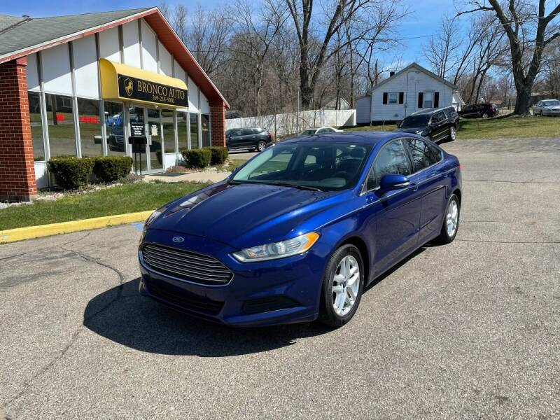 2014 Ford Fusion for sale at Bronco Auto in Kalamazoo MI