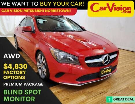 2018 Mercedes-Benz CLA for sale at Car Vision Mitsubishi Norristown in Trooper PA
