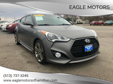 2013 Hyundai Veloster for sale at Eagle Motors in Hamilton OH