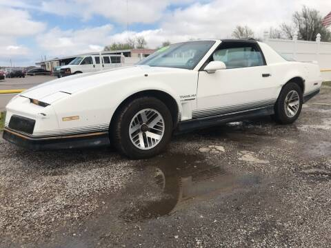 1984 Pontiac Firebird for sale at OKC CAR CONNECTION in Oklahoma City OK