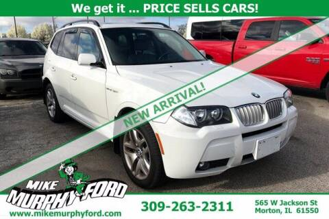 2007 BMW X3 for sale at Mike Murphy Ford in Morton IL