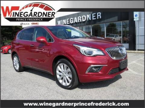 2017 Buick Envision for sale at Winegardner Auto Sales in Prince Frederick MD
