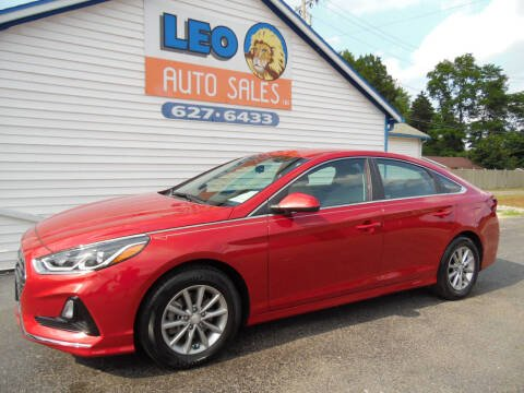 2018 Hyundai Sonata for sale at Leo Auto Sales in Leo IN