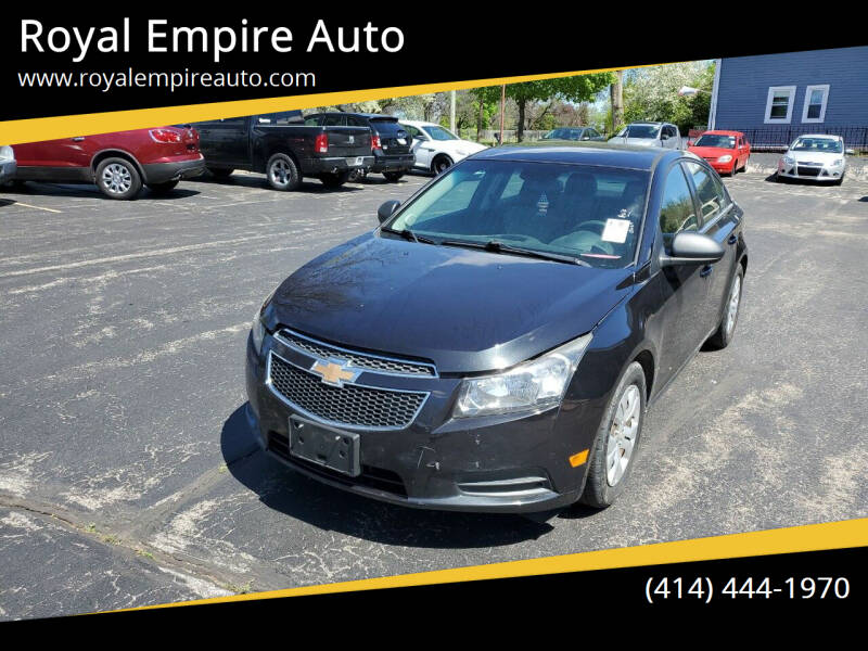 2012 Chevrolet Cruze for sale at Royal Empire Auto in Milwaukee WI
