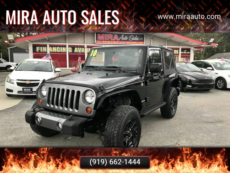 2010 Jeep Wrangler for sale at Mira Auto Sales in Raleigh NC