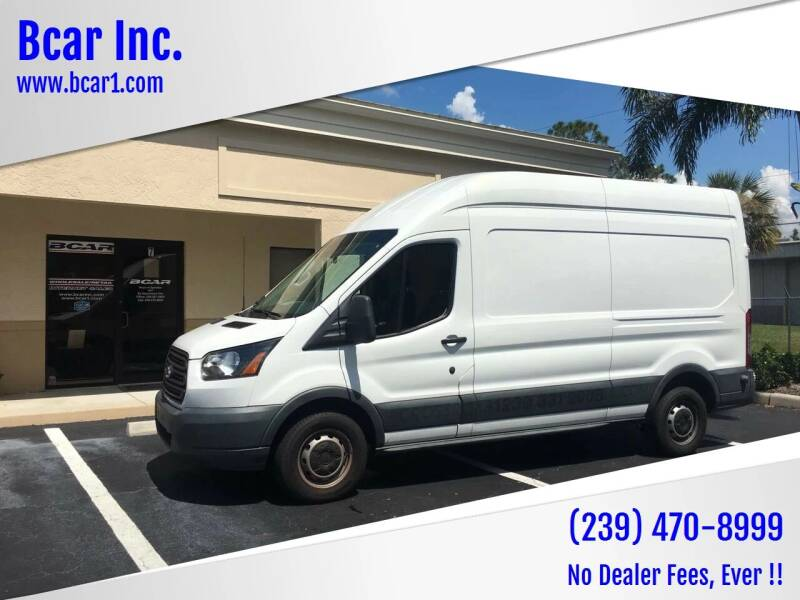 2015 Ford Transit Cargo for sale at Bcar Inc. in Fort Myers FL