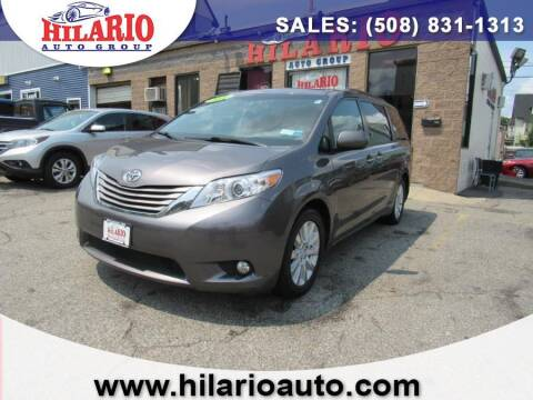 2015 Toyota Sienna for sale at Hilario's Auto Sales in Worcester MA
