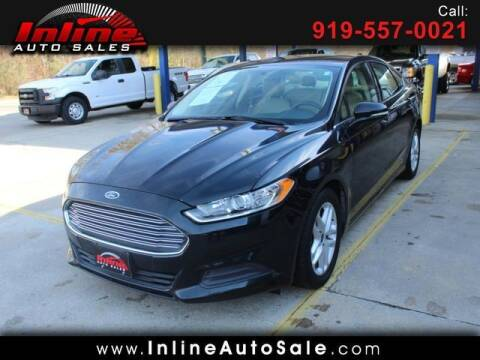 2014 Ford Fusion for sale at Inline Auto Sales in Fuquay Varina NC